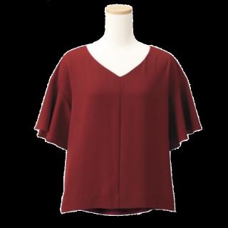このコーデで使われているGUのシャツ/ブラウス[レッド/ボルドー]