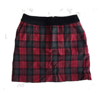 Jack Willsのひざ丈スカート