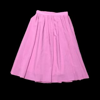 このコーデで使われているROPE' PICNICのミモレ丈スカート[ピンク]