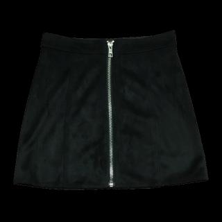 このコーデで使われているFOREVER 21のミニスカート[ブラック]