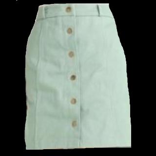 このコーデで使われているRay Cassinのタイトスカート[グリーン]