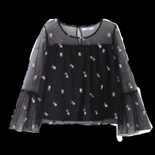 このコーデで使われているGRLのシャツ/ブラウス[ブラック]