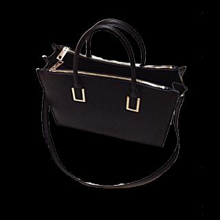 このコーデで使われているH&Mのトートバッグ[ブラック]
