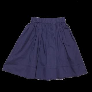 このコーデで使われているJILLSTUARTのひざ丈スカート[ネイビー]