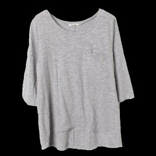 このコーデで使われているFREE'S MARTのTシャツ/カットソー[グレー]