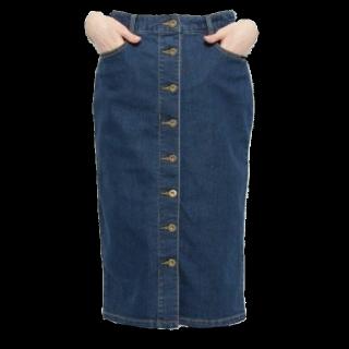 このコーデで使われているINDEXのタイトスカート[ブルー]