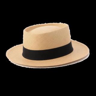 このコーデで使われているROSE BUDの麦わら帽子[ベージュ/キャメル/ブラック]