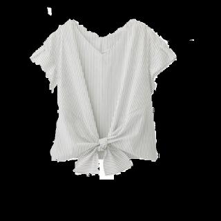 このコーデで使われているGUのシャツ/ブラウス[ホワイト]