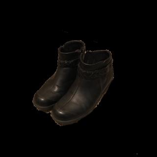 このコーデで使われているブーツ[ブラック]