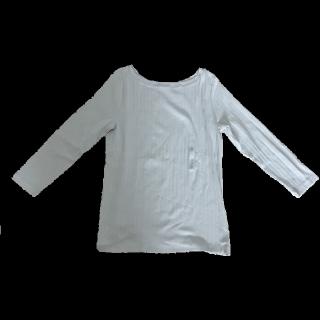 このコーデで使われているMUJIのTシャツ/カットソー[グレー]
