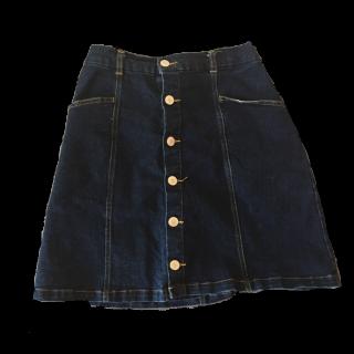 このコーデで使われているRay Cassinのひざ丈スカート[ネイビー]