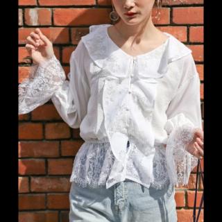 このコーデで使われているPAGEBOYのシャツ/ブラウス[ホワイト]