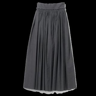 このコーデで使われているRBSのマキシ丈スカート[グレー]