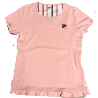 このコーデで使われているFILAのTシャツ/カットソー[ピンク]