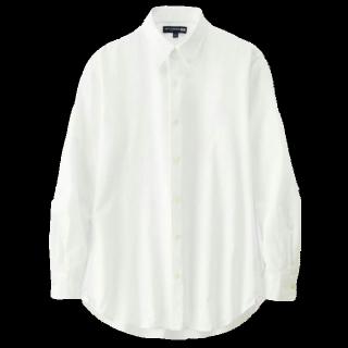 このコーデで使われているUNIQLOのシャツ/ブラウス[ホワイト]