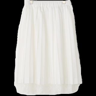 このコーデで使われているTe chichiのミモレ丈スカート[ホワイト]