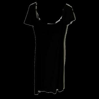 このコーデで使われているBCBGMAXAZRIAのひざ丈ワンピ[ブラック]
