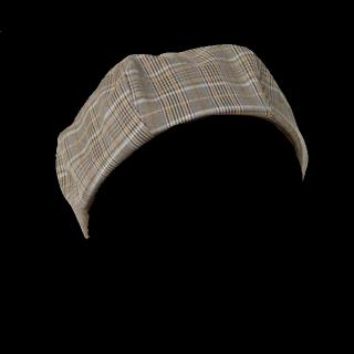 このコーデで使われているROPE' PICNICのベレー帽[グレー/ベージュ]
