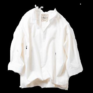このコーデで使われているLive in comfortのシャツ/ブラウス[ホワイト]