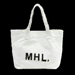 このコーデで使われているMHL.のトートバッグ[ホワイト]