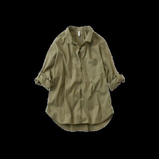 このコーデで使われているFELISSIMOのシャツ/ブラウス[カーキ]