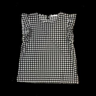 このコーデで使われているLOWRYS FARMのシャツ/ブラウス[ブラック/ホワイト]