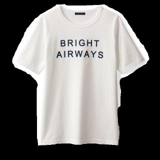 このコーデで使われているbellemaisonのTシャツ/カットソー[ホワイト]