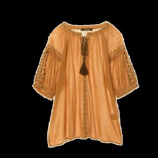 このコーデで使われているw closetのシャツ/ブラウス[ブラウン]