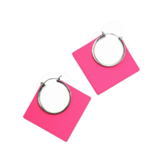 このコーデで使われているCOQULEのピアス/イヤリング[ピンク]