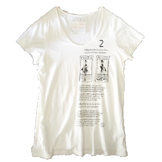 このコーデで使われているNOJESSのTシャツ/カットソー[ホワイト/ブラック]