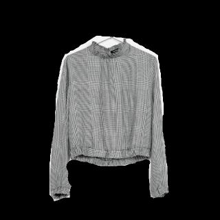このコーデで使われているBershkaのシャツ/ブラウス[グレー]