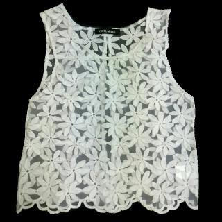 このコーデで使われているCECIL McBEEのTシャツ/カットソー[ホワイト]