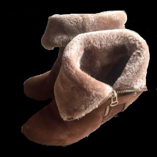 不明のブーツ