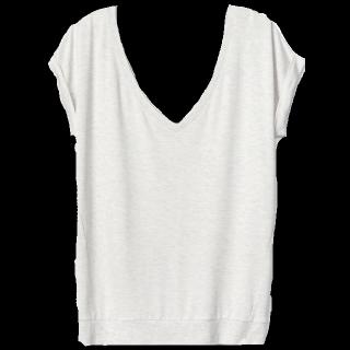 このコーデで使われているH&MのTシャツ/カットソー[ホワイト]