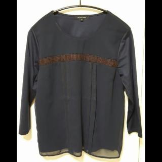 このコーデで使われているTRANS WORKのTシャツ/カットソー[ネイビー]