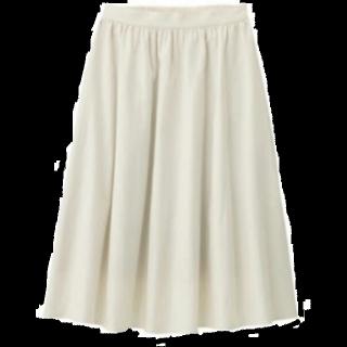 GUのフレアスカート