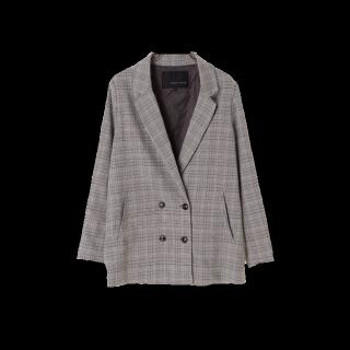 このコーデで使われているYECCA VECCAのジャケット[グレー]
