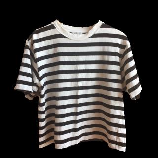このコーデで使われているGLOBAL WORKのTシャツ/カットソー[ホワイト/ブラック]