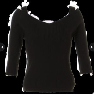 JUSGLITTYのニット/セーター