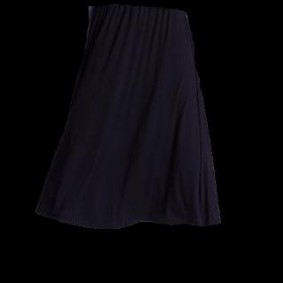 このコーデで使われているUNIQLOのスカート[ブラック]