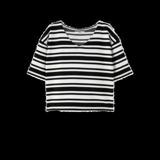 このコーデで使われているGRLのTシャツ/カットソー[ホワイト/ブラック]