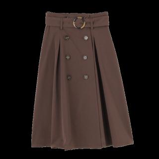 dazzlinのひざ丈スカート