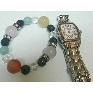 このコーデで使われているAngel Heartの腕時計[ピンク/シルバー/ゴールド]
