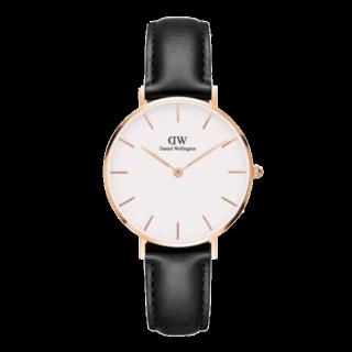 このコーデで使われているDWの腕時計[ブラック/ホワイト/ゴールド]