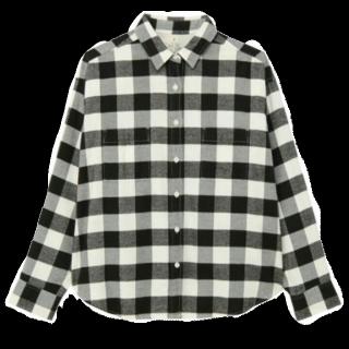 このコーデで使われているMUJIのシャツ/ブラウス[ブラック]