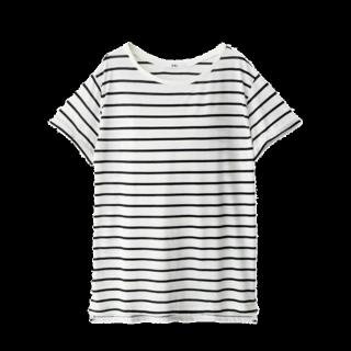 このコーデで使われているGRLのTシャツ/カットソー[ホワイト]