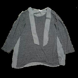 このコーデで使われているシャツ/ブラウス[グレー]