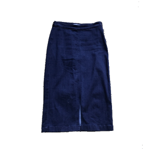 このコーデで使われているGLOBAL WORKのデニムスカート[ブルー]
