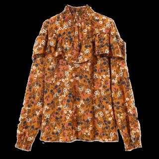 このコーデで使われているGRLのシャツ/ブラウス[オレンジ]