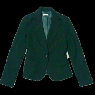 このコーデで使われているRue de Bのテーラードジャケット[ブラック]